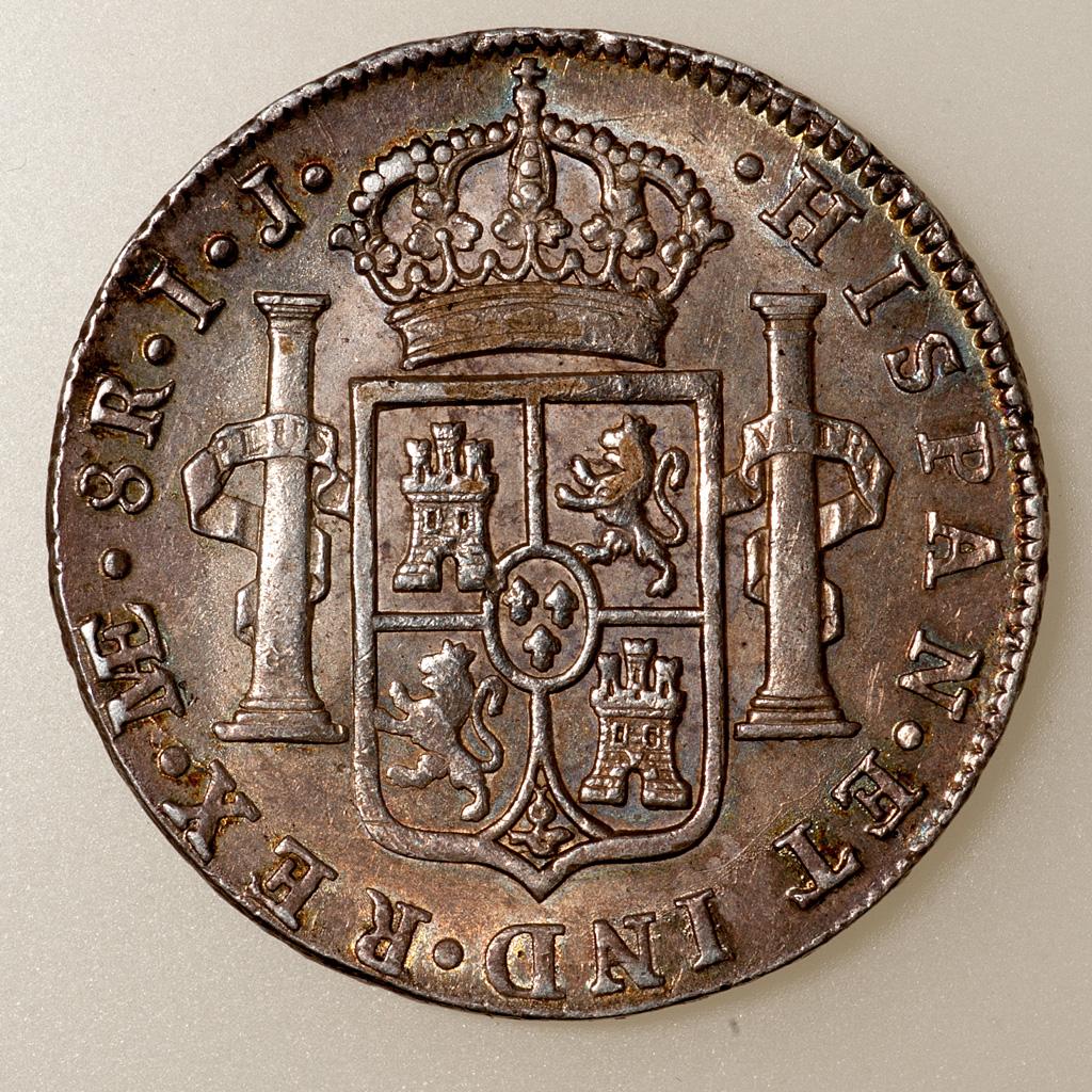 8 Reales 1789. Carlos IV. Lima. Busto Carlos III. - Página 2 _pas4617