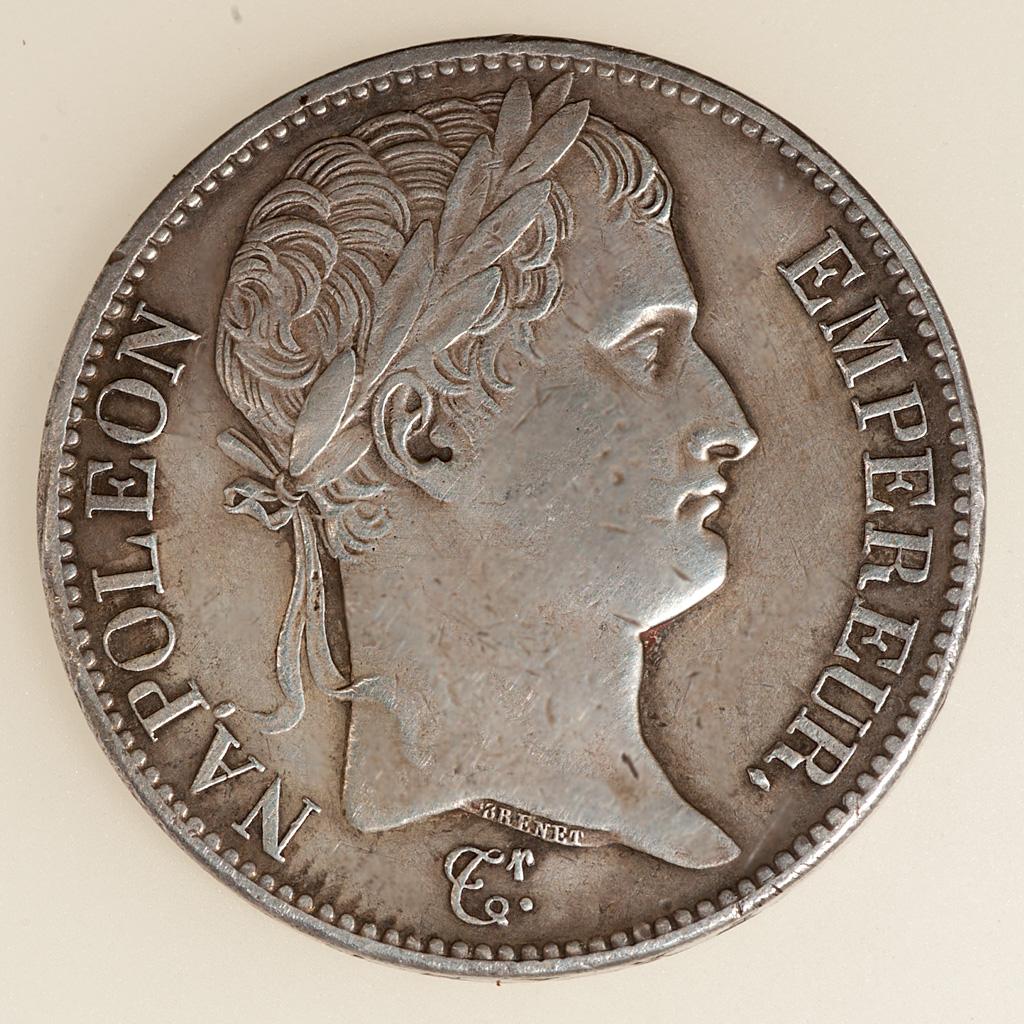 5 Francos Napoleón I Emperador 1810 (busto laureado) _pas4718