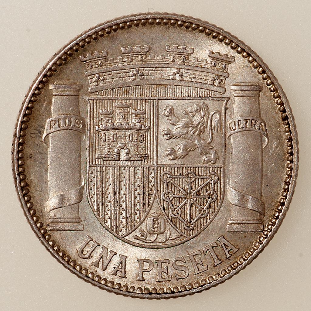 1 Peseta 1933 (*3-4). II República _pas4737