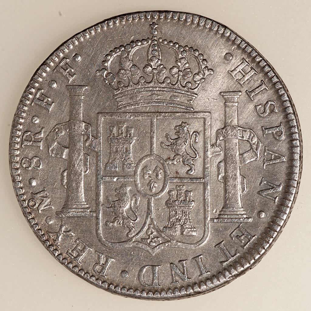 8 Reales Carlos III México 1778 FF (busto) _pas4740