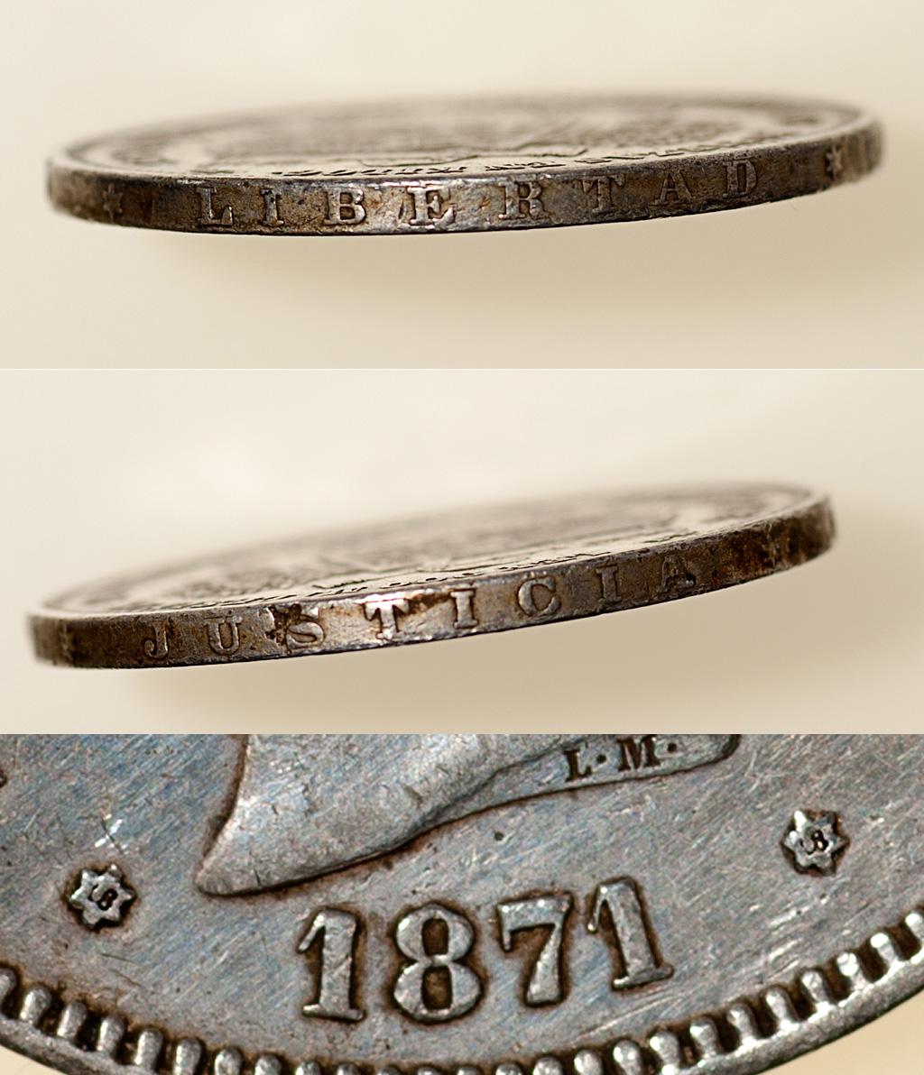 5 pesetas 1871 (*18-18). Amadeo I  _pas4812