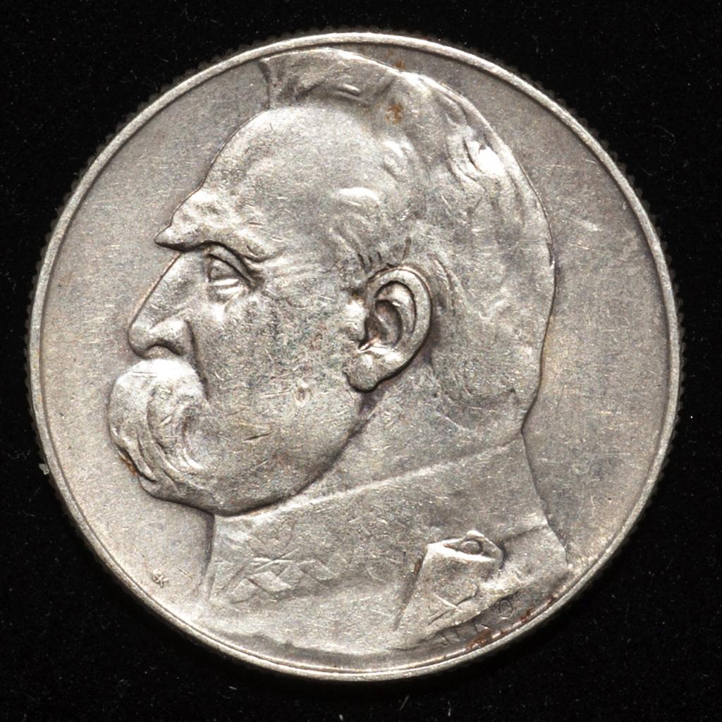 5 zlotych Polonia 1936 (Jósef Pilsudski) _pas6516