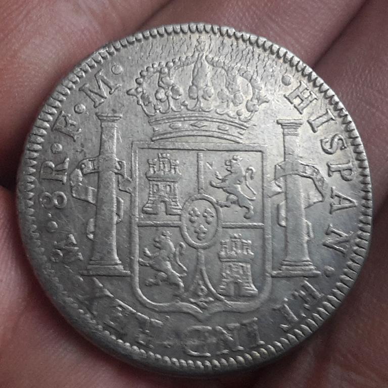 8 Reales 1795. Carlos IV. México  Civ17911