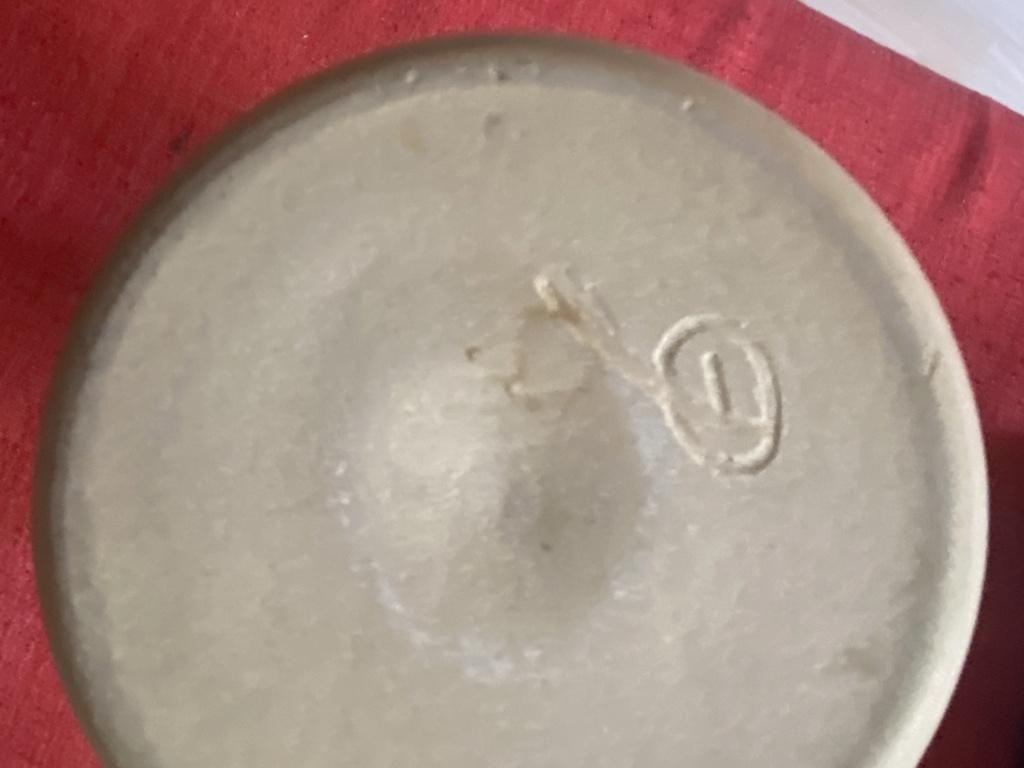 GP mark? Looks familiar. Vase - Pog crafts. 5394ef10