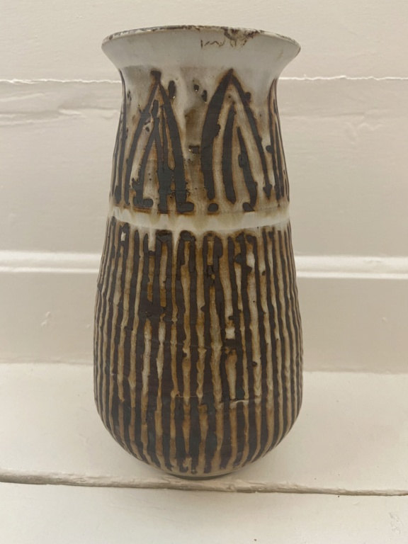 Stoneware vase - TRD? Mark Fac04110