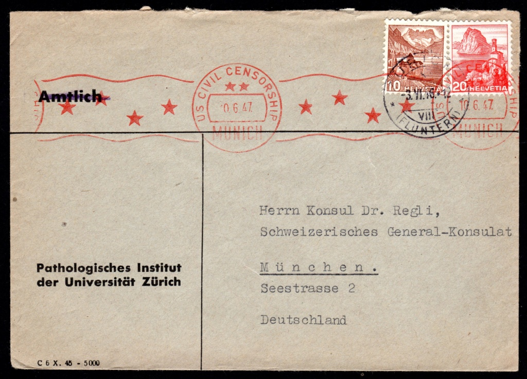 Schweizer Konsulat Vertreter im Zweiten Weltkrieg Regli310