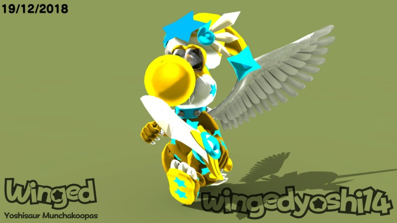 Winged B. (Traje estelar) 20181210