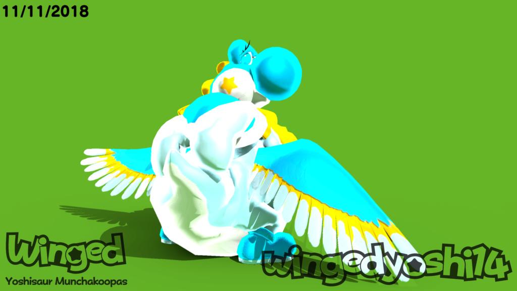 Mi OC: Winged Butt10