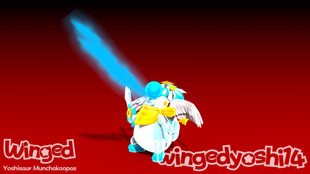 Mi OC: Winged Firee10