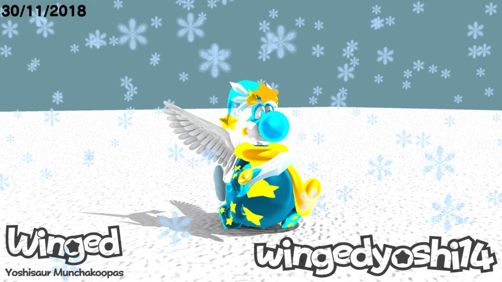 Mi OC: Winged Winged14