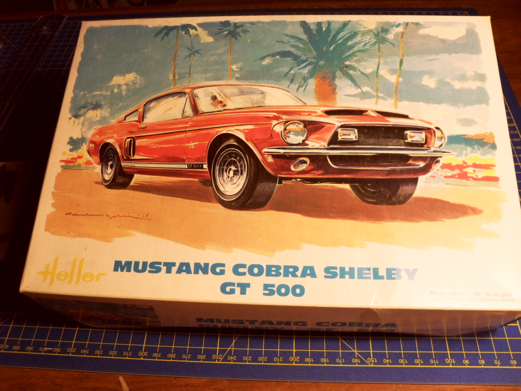 Mustang Shelby  Heller Boites10