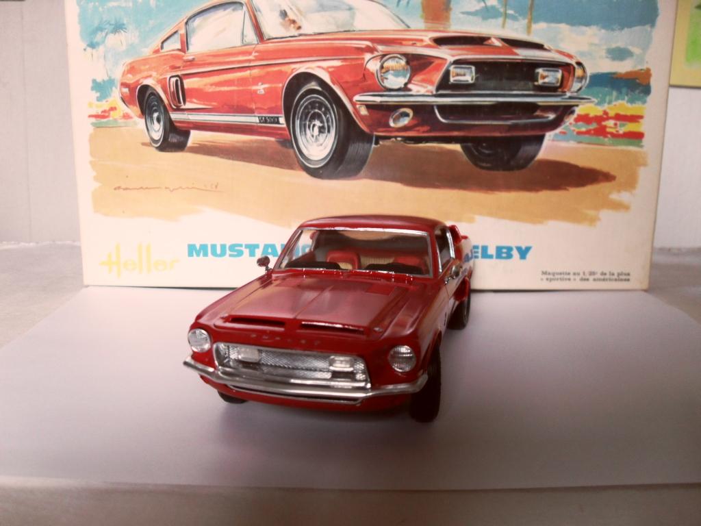 Mustang Shelby  Heller Boites11