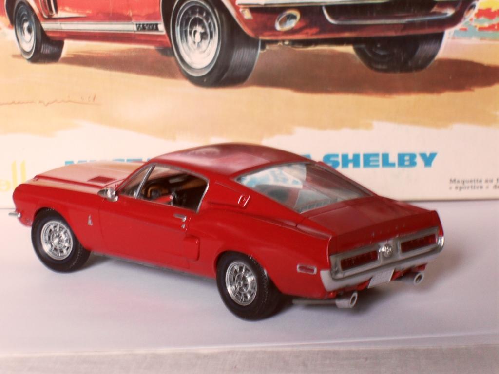 Mustang Shelby  Heller Boites12