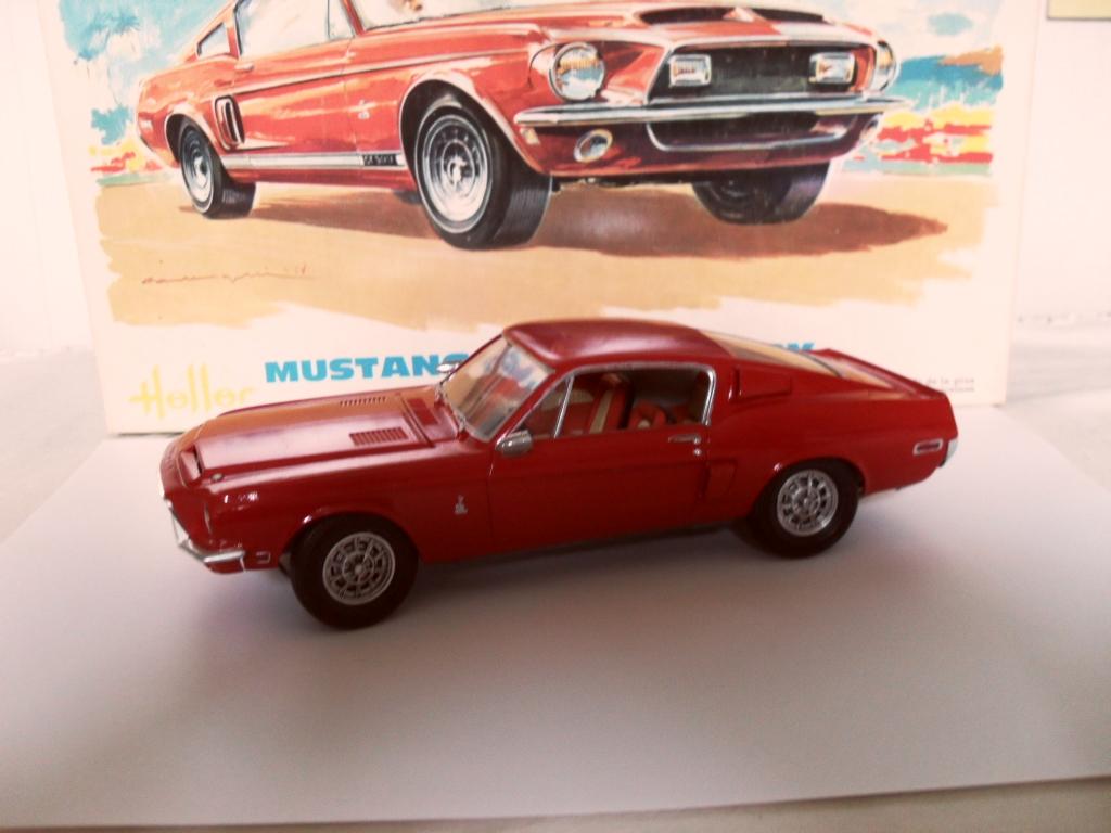 Mustang Shelby  Heller Boites14