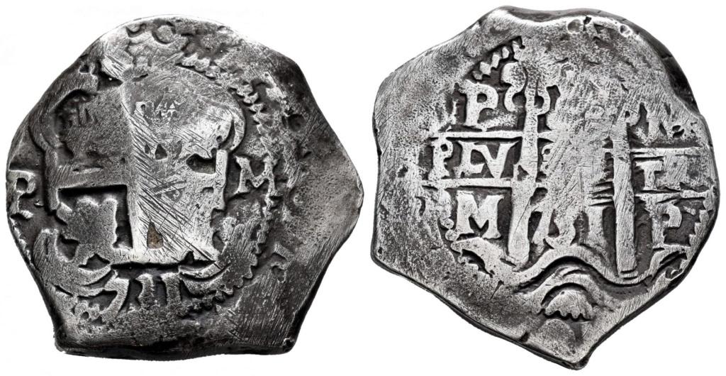 8 Reales 1731 Potosí M 1731-b10