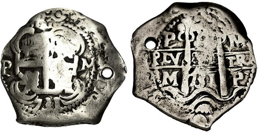 8 Reales 1731 Potosí M 1731-c10