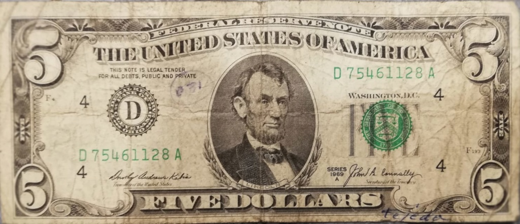 5 Dólares Serie 1969 A ...Reverso???? Img-2010