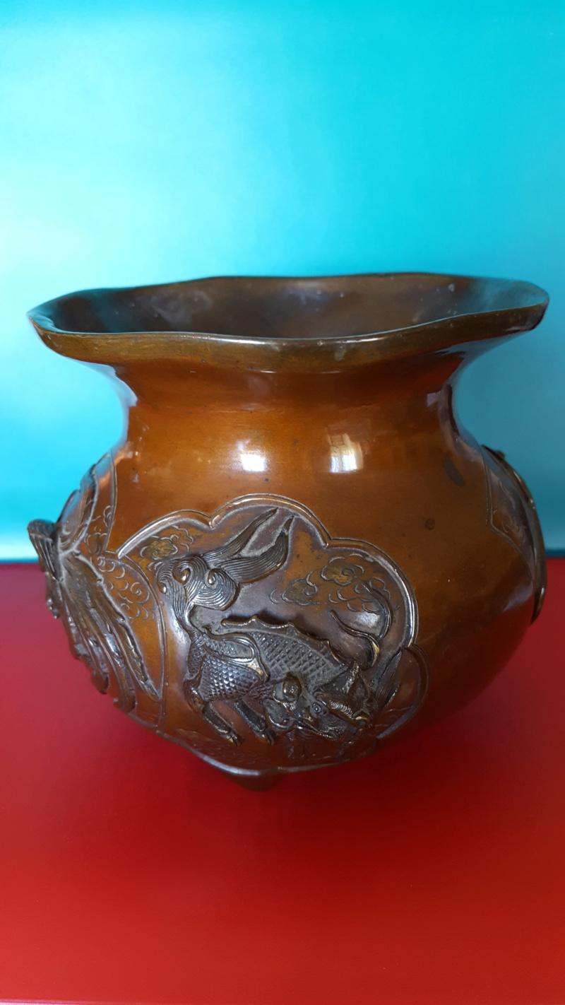 vase d'autel aux animaux mythiques 20190914