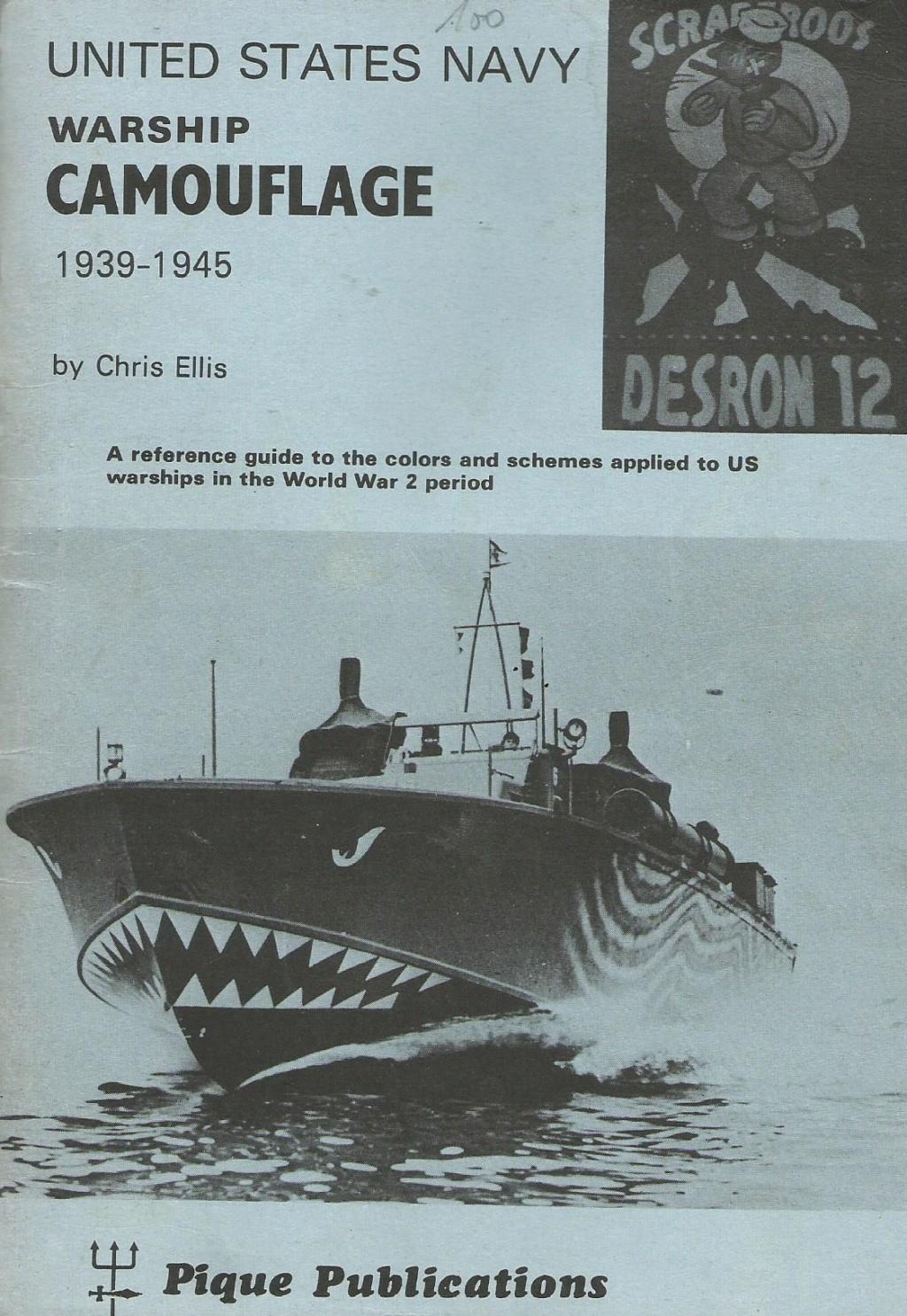 Mesures réglementires de camouflages US Navy 1939 - 1945 - Page 3 Camouf10
