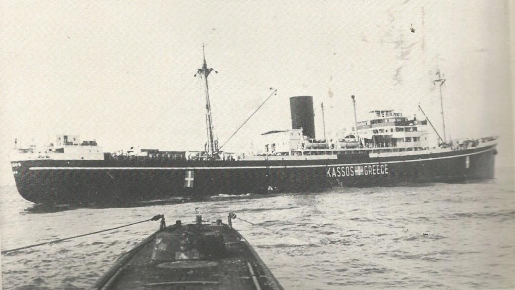 Les U-Boote, sous-marins de la Kriegsmarine Cassos10