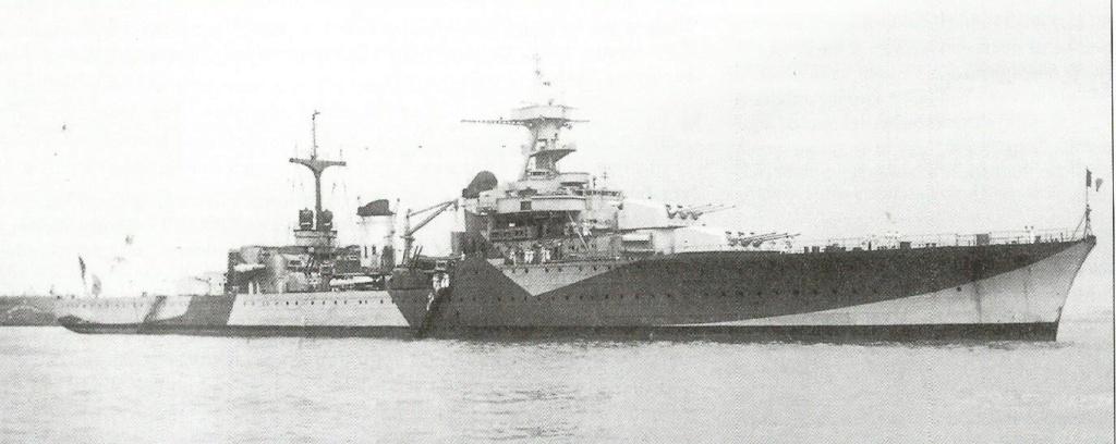 Camoufalge des navires français 1939 45  Gloire10