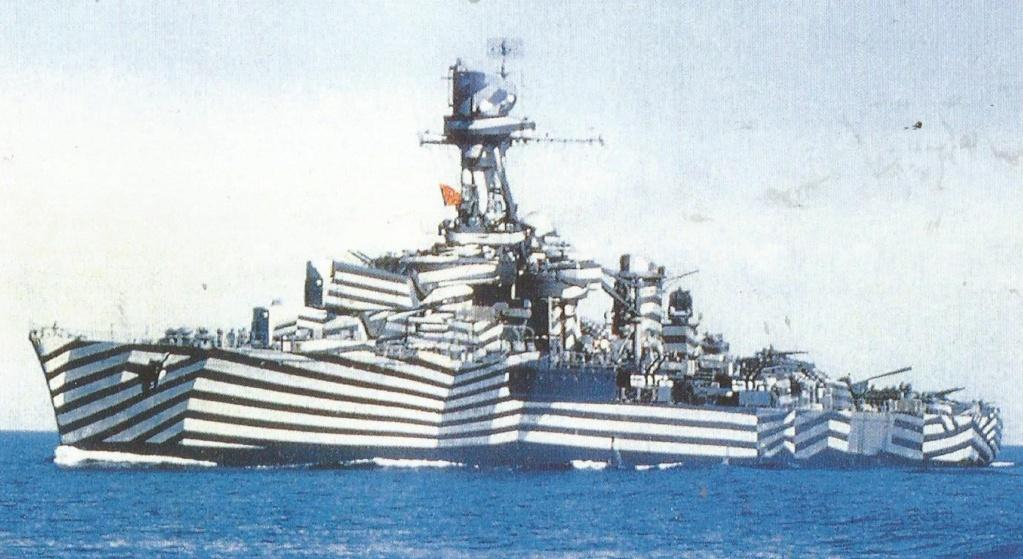 Camoufalge des navires français 1939 45  Gloire11