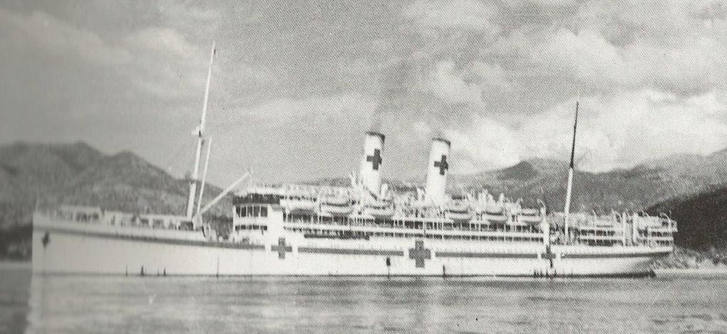 les navires hôpitaux Gradis10