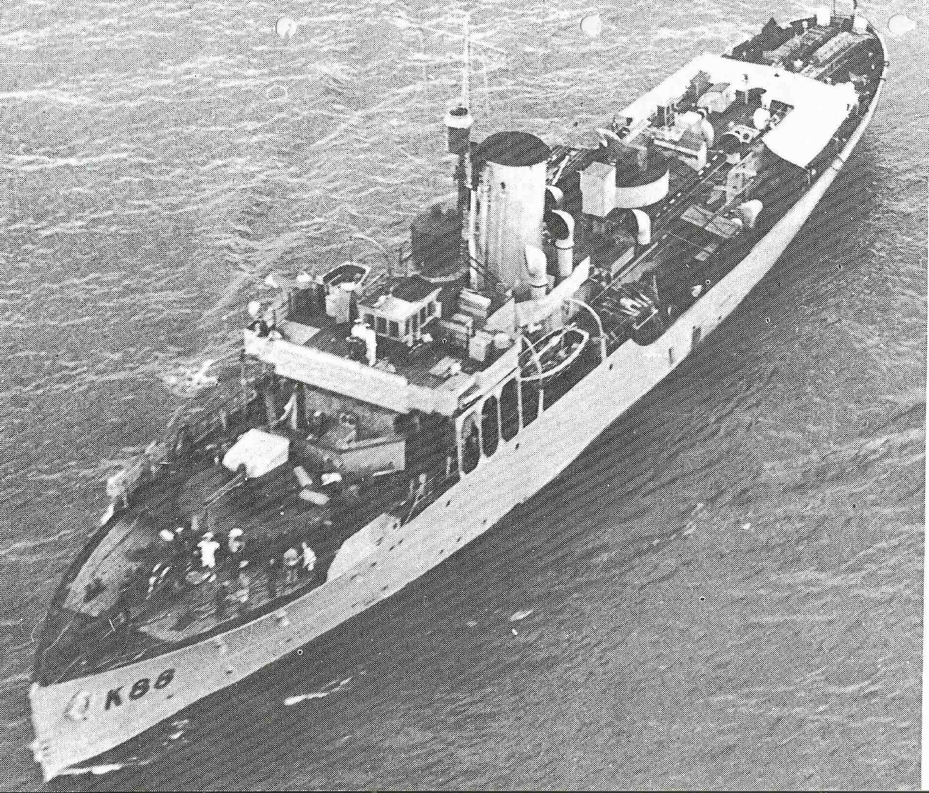 HS navire et histoire sur les corvettes classe Flower Image_36