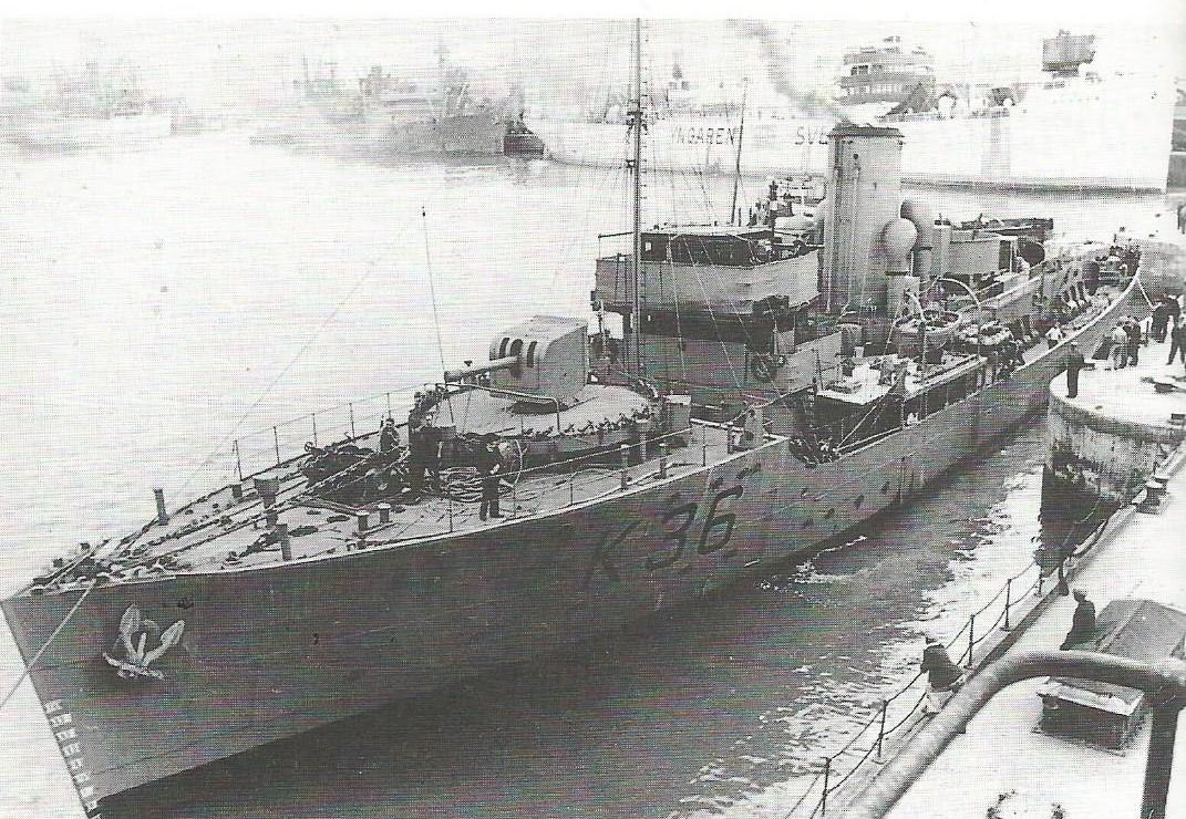 HS navire et histoire sur les corvettes classe Flower K_66_c10