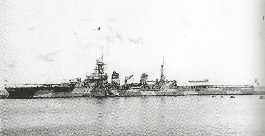 Camoufalge des navires français 1939 45  Montca10