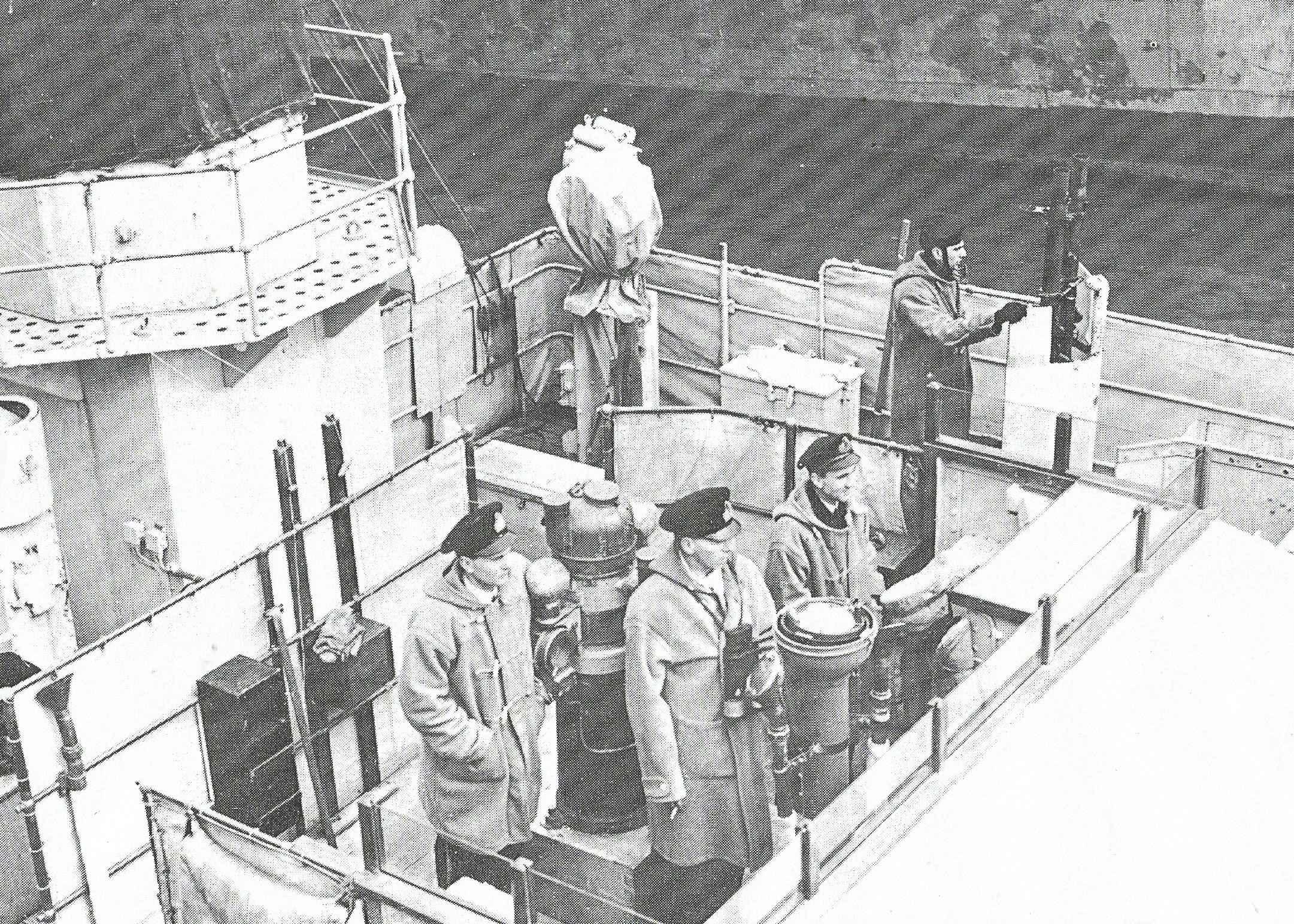 HS navire et histoire sur les corvettes classe Flower Passer11