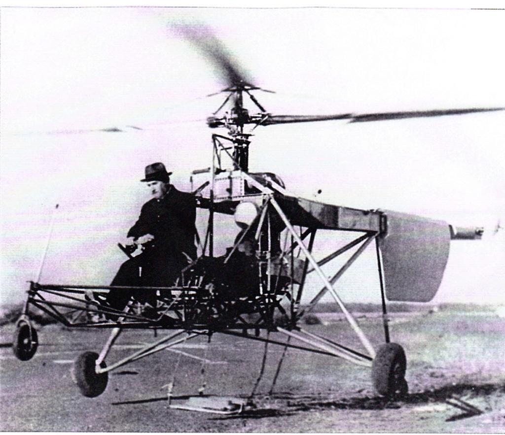 Les débuts de l'hélicoptère dans la marine Sikors10