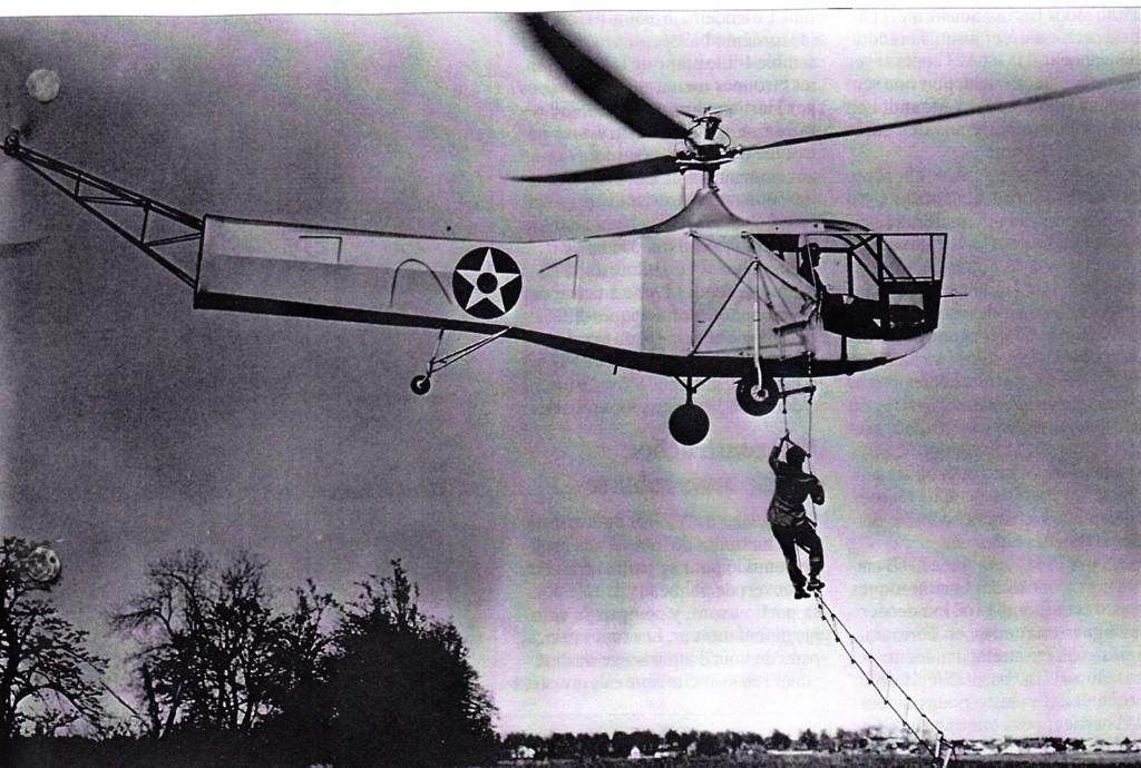Les débuts de l'hélicoptère dans la marine Sikors11