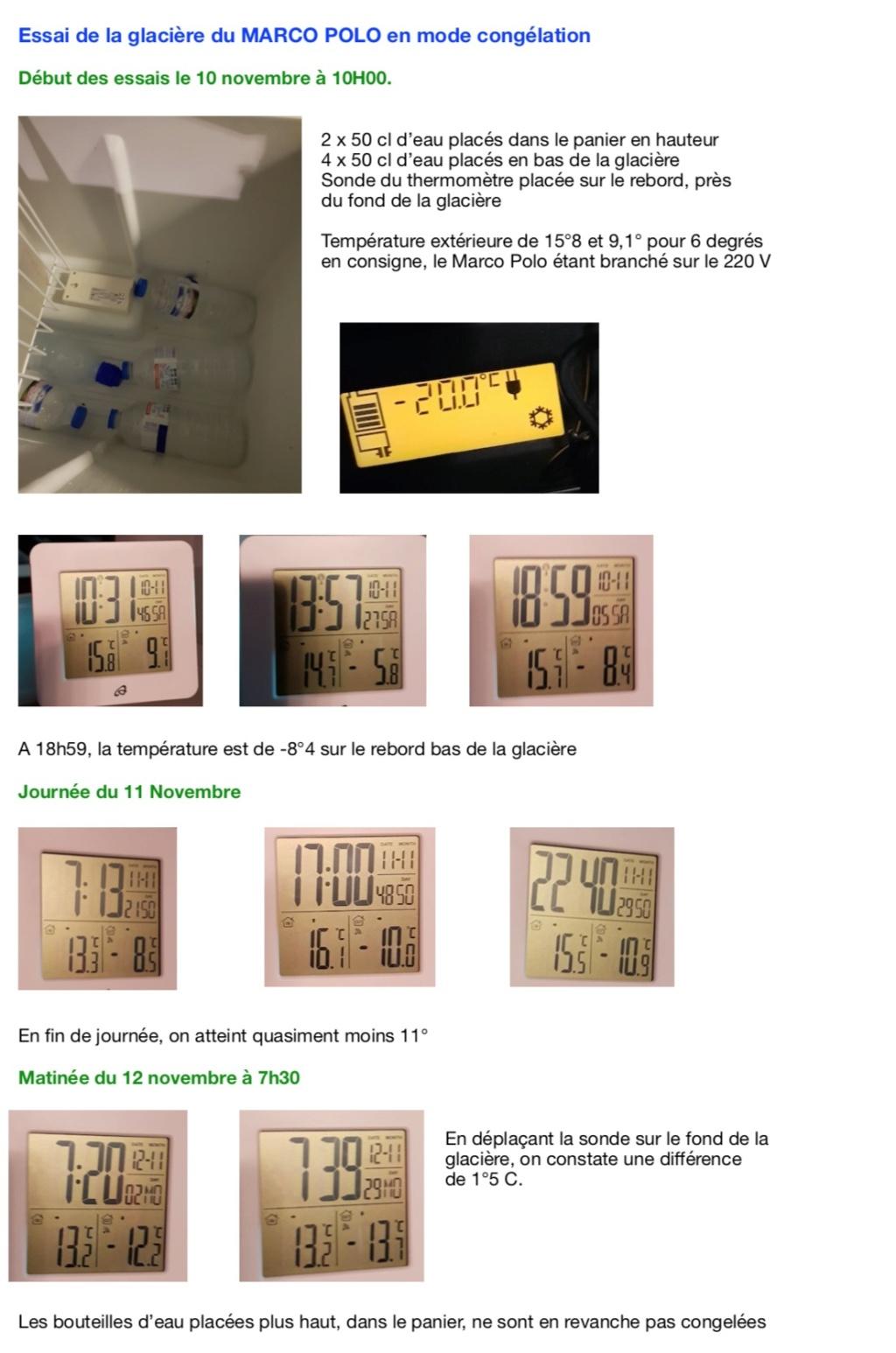 fonction congélation sur le réfrigérateur Wesfalia ? Captur15