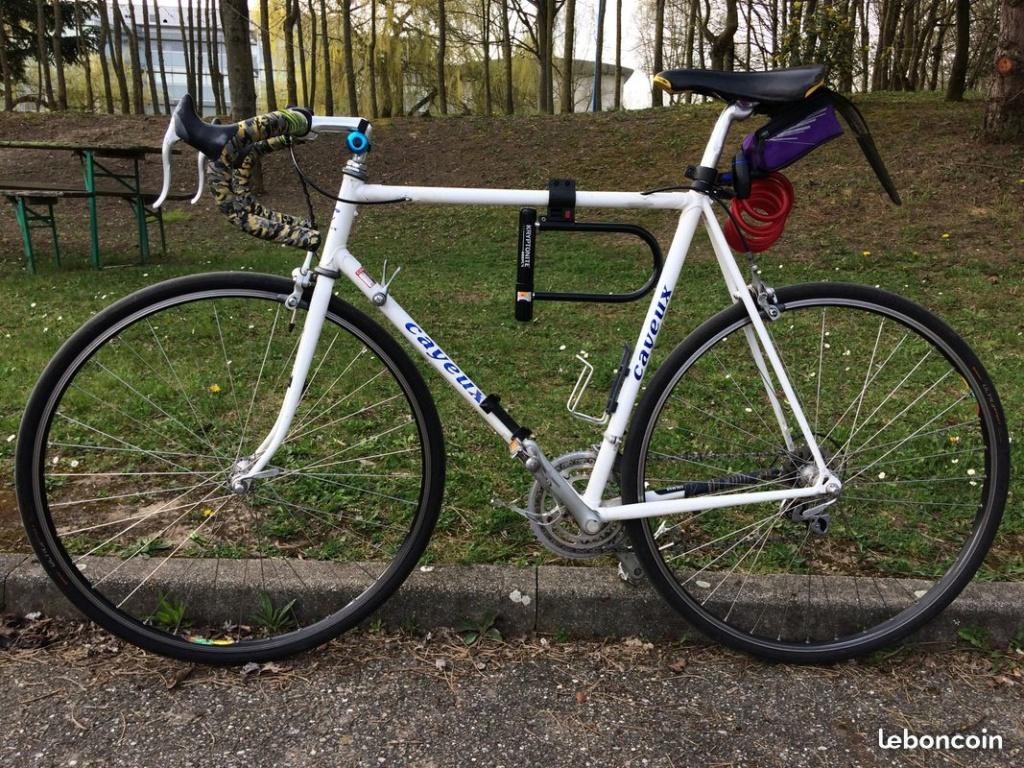 Un vélo mystérieux... Mais beau!!  .... Mais mystérieux  - Cadre G. Cayeux Colmar Columbus Shimano 652ef810