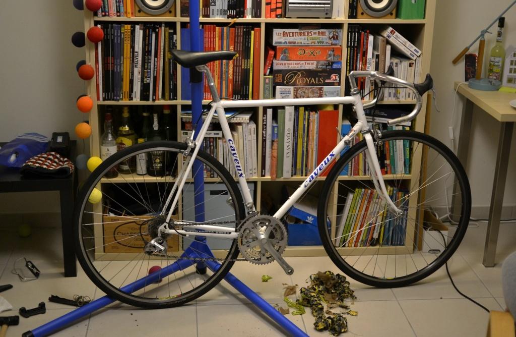 Un vélo mystérieux... Mais beau!!  .... Mais mystérieux  - Cadre G. Cayeux Colmar Columbus Shimano _dsc0314