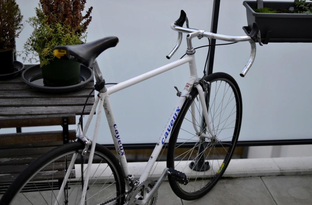 Un vélo mystérieux... Mais beau!!  .... Mais mystérieux  - Cadre G. Cayeux Colmar Columbus Shimano _dsc0411