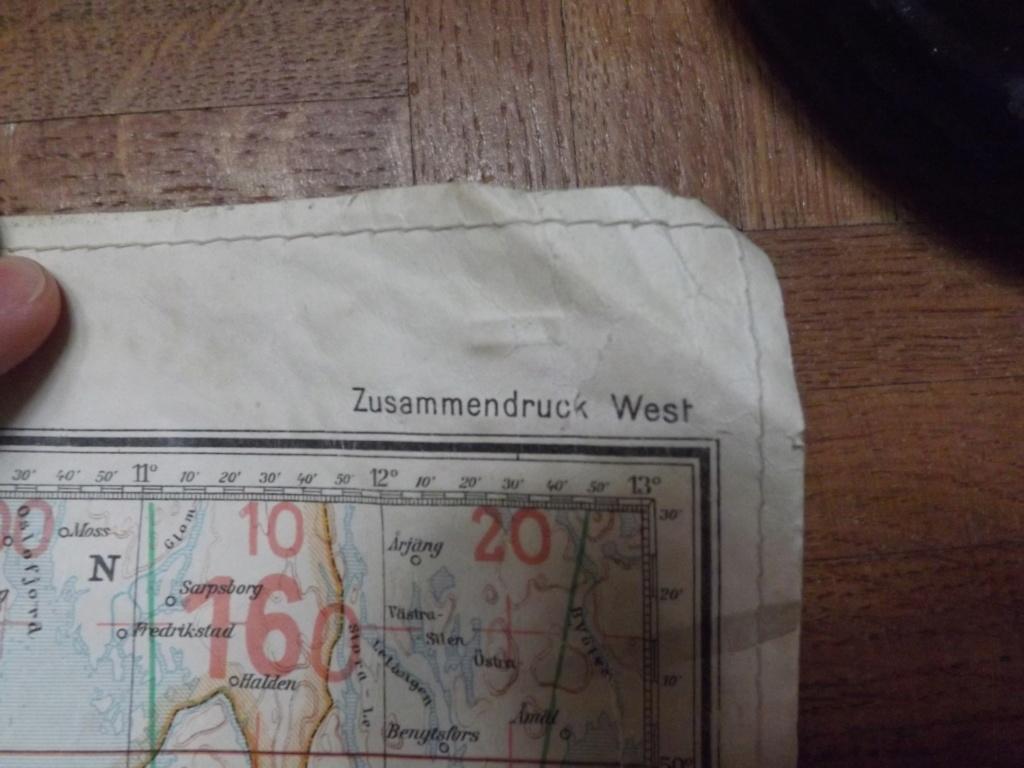 Estimation carte de navigation aérienne allemande WW2 Dscf2028