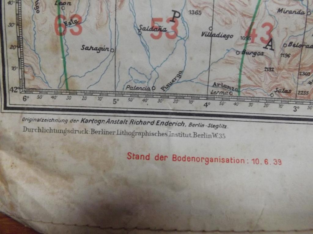 Estimation carte de navigation aérienne allemande WW2 Dscf2030