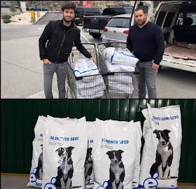 100kg de ração doadas no Porto 20181210