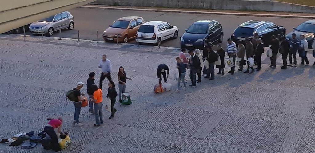 27 de Março- Acção de Solidariedade com os sem-abrigo de Lisboa (fotos) 20190326