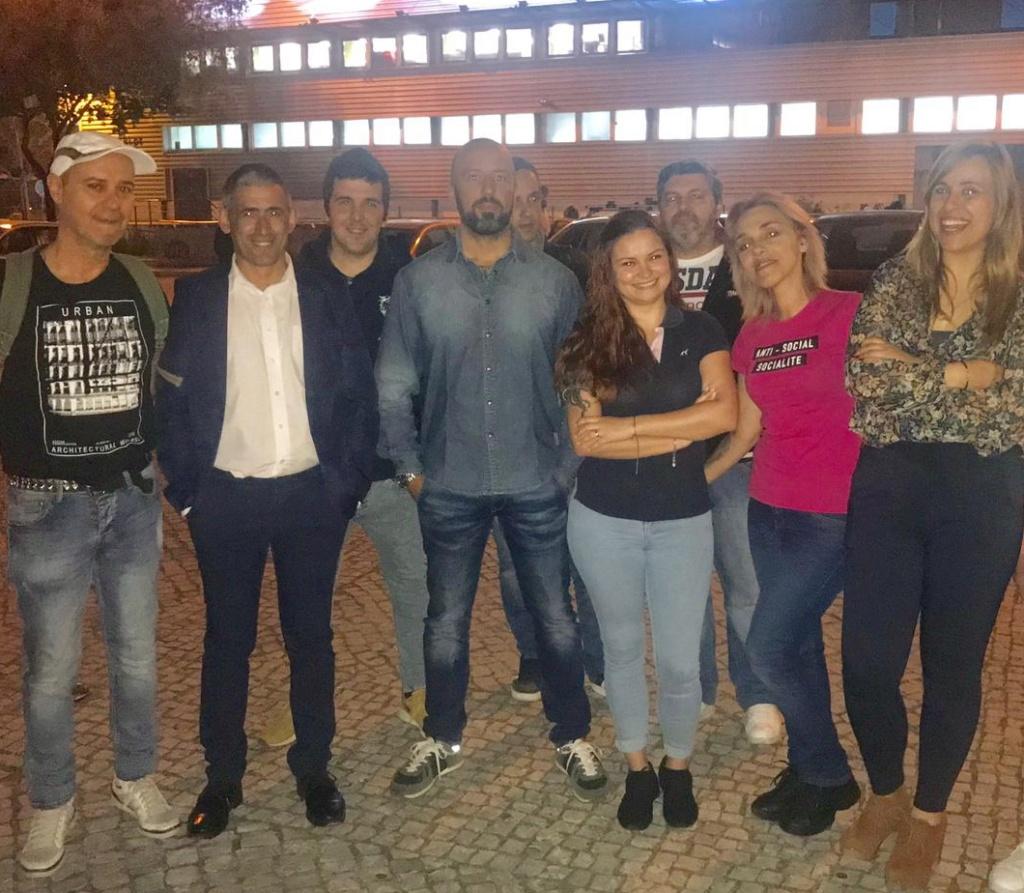 27 de Março- Acção de Solidariedade com os sem-abrigo de Lisboa (fotos) 20190328