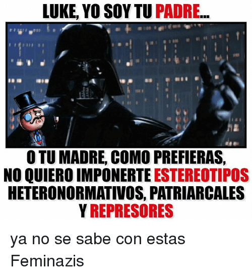 ¡¡¡ WELCOME no FEMINAZIS!!! Luke-y10