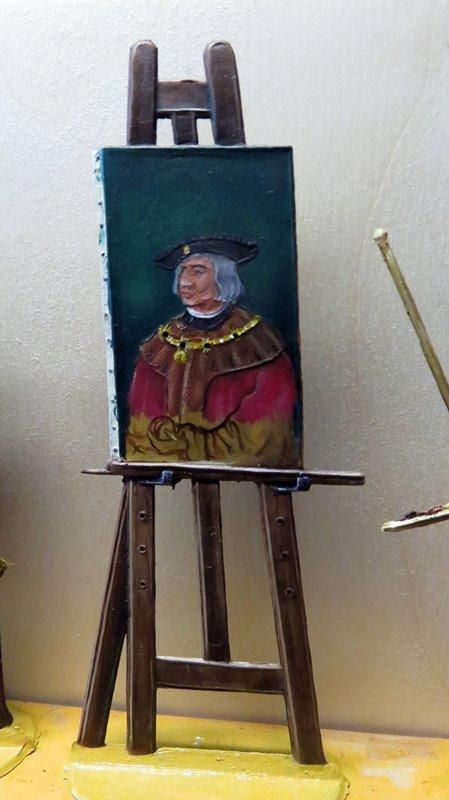 Albrecht Dürer malt Kaiser Maximilian Ad1310