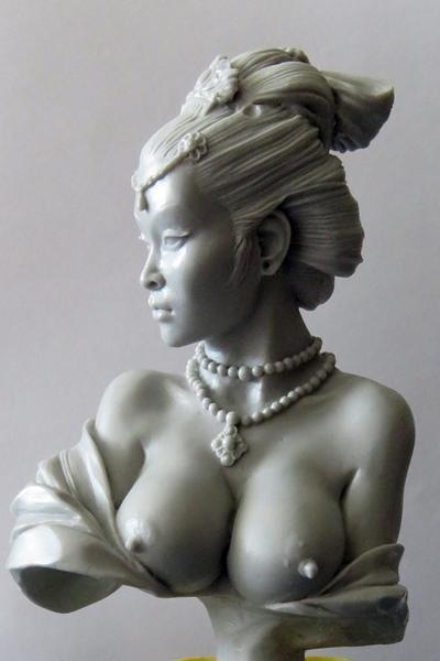 Chinesische Dame Chi110
