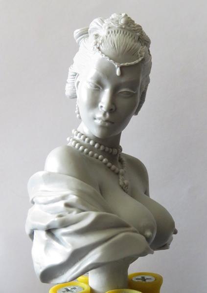 Chinesische Dame Chi310