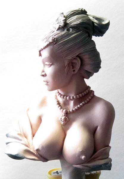 Chinesische Dame Chi510