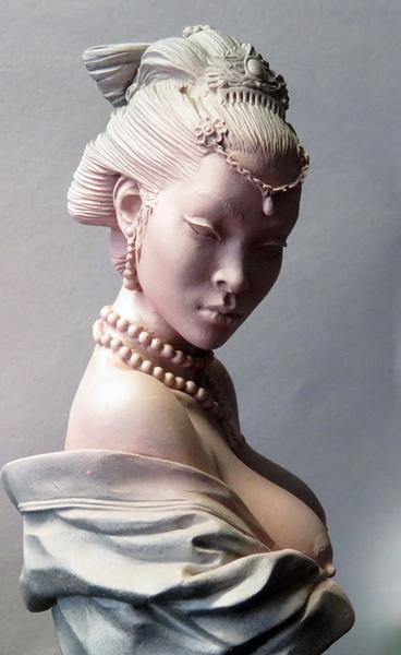 Chinesische Dame Chi610