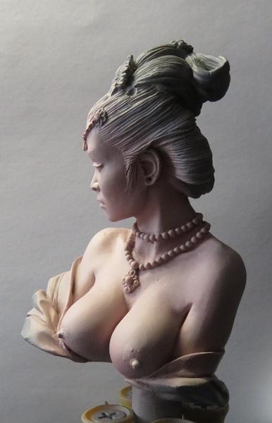 Chinesische Dame Chi910