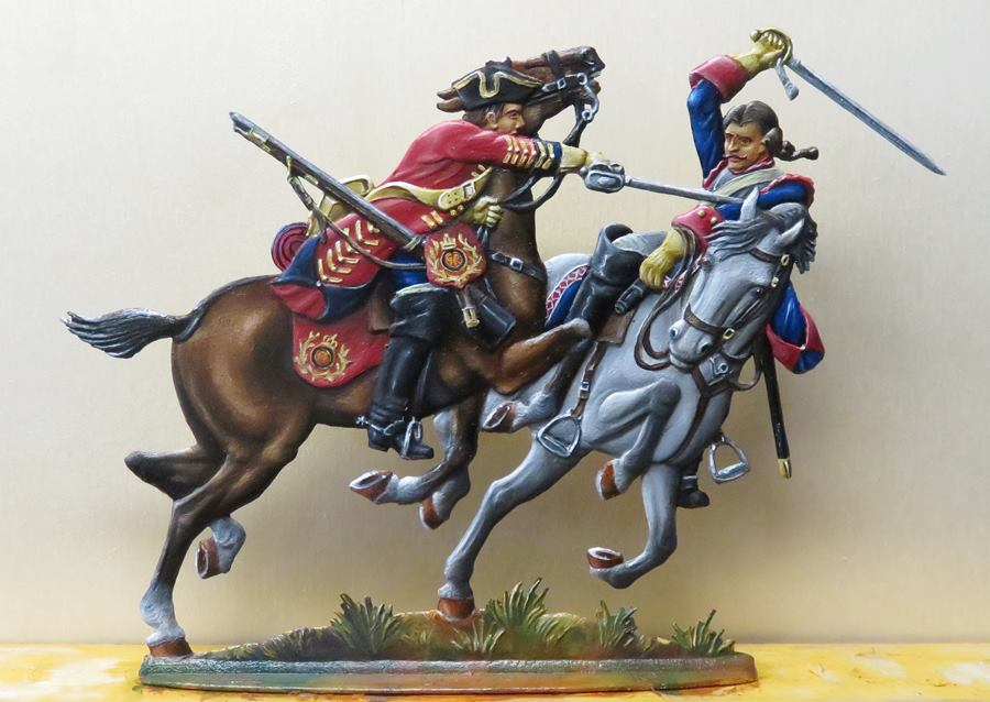 Schlacht bei Dettingen am 27. Juni 1743 Dettin10